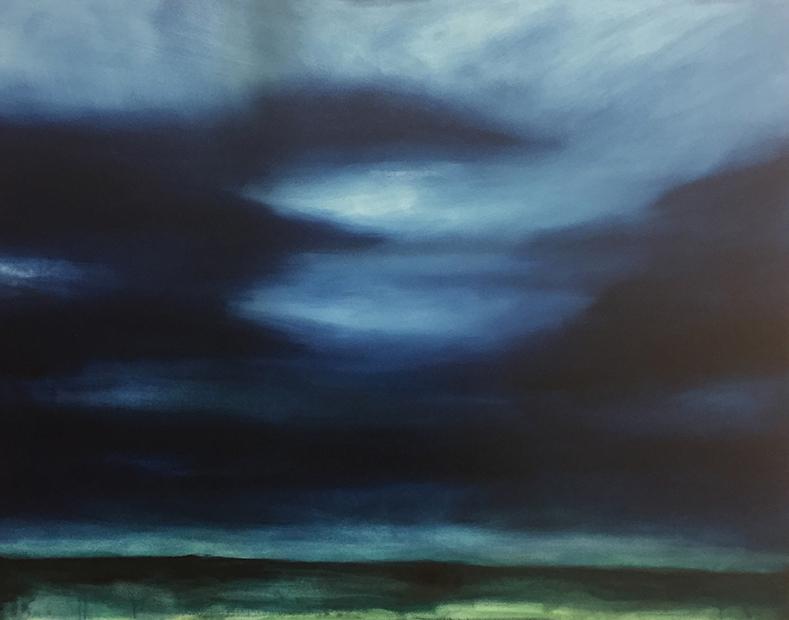 Lily Rigby_oil on canvas_Brighton Sky